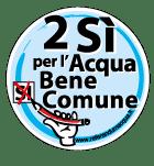 logo comitato referendario acqua